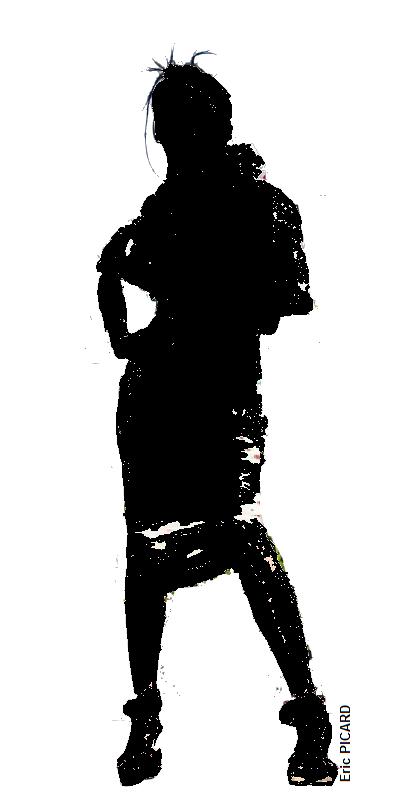 Silhouette de femme : dessinsagogo55