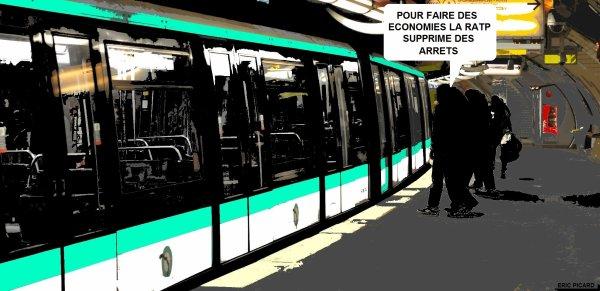 La ligne 1 du métro parisien ne s'arrête plus
