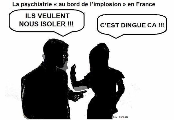 La psychiatrie « au bord de l'implosion » en France