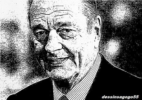 L'Ex-président de la République Jacques Chirac est mort