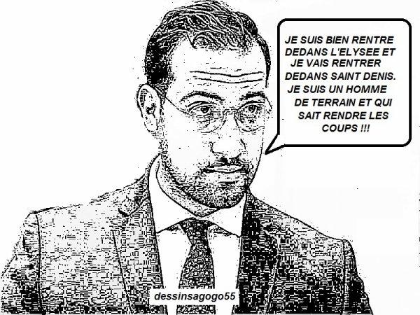 Municipales 2020: vers une candidature d'Alexandre Benalla à Saint-Denis?