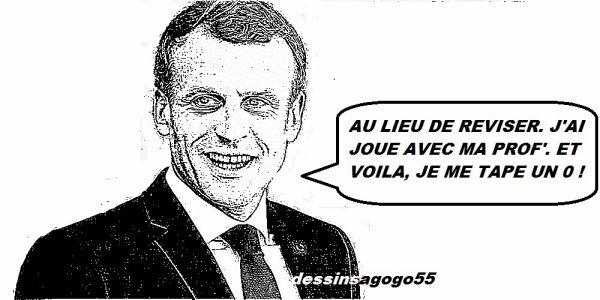 Macron est-il «déconnant» quand il dit qu'un enseignant touche 1 200 euros de retraite ?