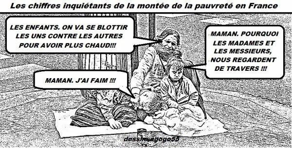 Les chiffres inquiétants de la montée de la pauvreté en France