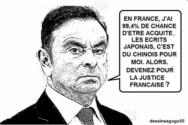 Affaire Carlos Ghosn : des parlementaires souhaitent un retour et un procès en France
