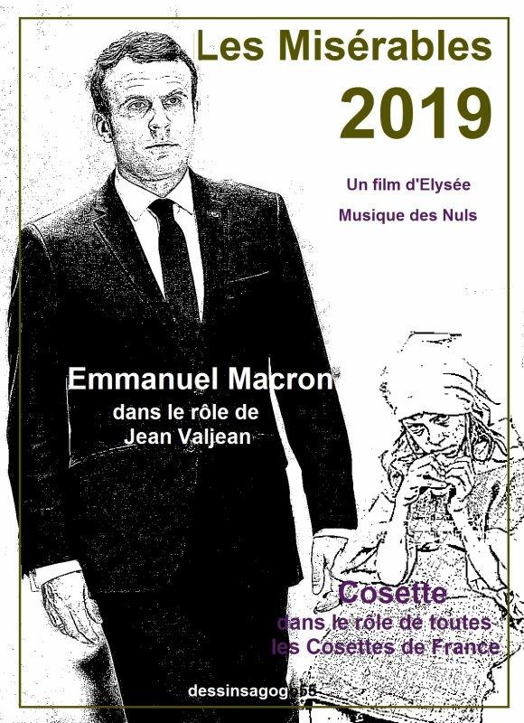 """Macron se décide à agir après avoir vu """"Les Misérables"""""""