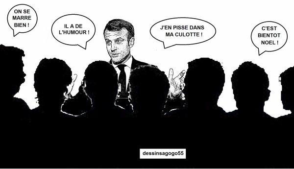 """Emmanuel Macron se décide à agir après avoir vu """"Les Misérables"""": les internautes ironisent"""