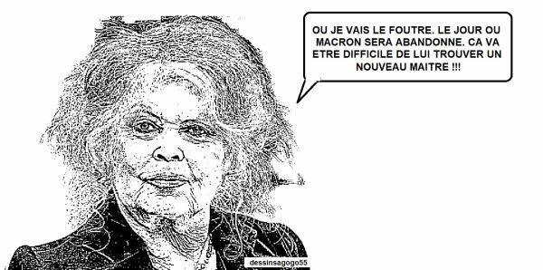 Brigitte Bardot charge à nouveau Emmanuel Macron