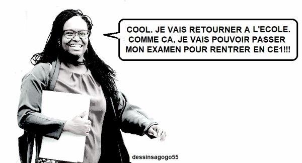 Sibeth Ndiaye cash sur le retour de ses enfants à l'école