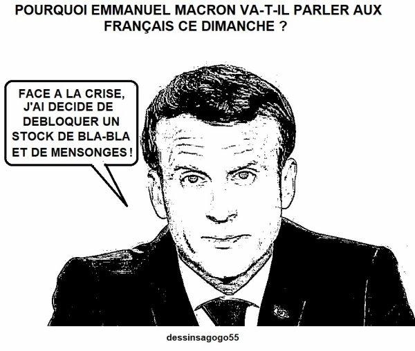 Pourquoi Emmanuel Macron va-t-il parler aux Français ce dimanche ?