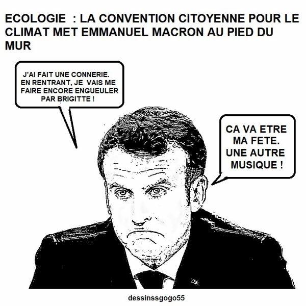 Ecologie : La Convention citoyenne pour le climat met Emmanuel Macron au pied du mur