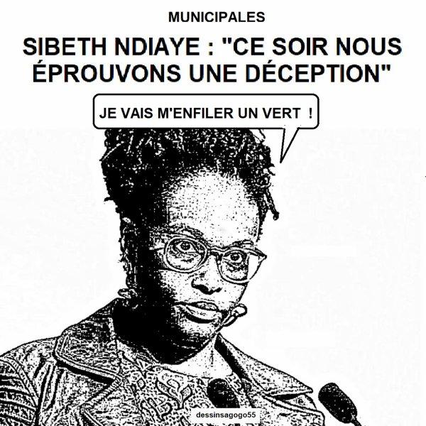 """Municipales - Sibeth Ndiaye : """"Ce soir nous éprouvons une déception"""""""