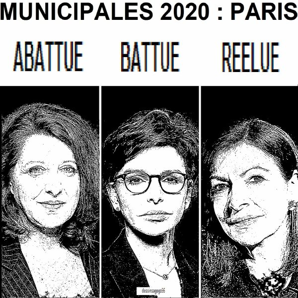 Municipales 2020 : Paris