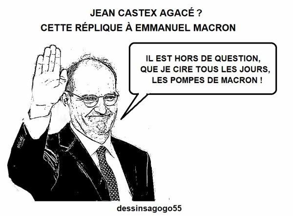 Jean Castex agacé? Cette réplique à Emmanuel Macron