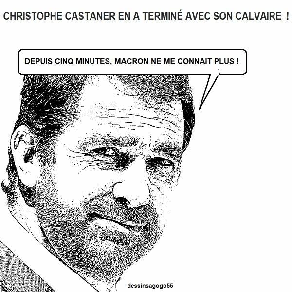 Christophe Castaner en a terminé avec son calvaire !
