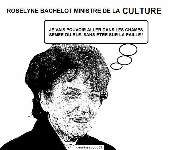 Roselyne Bachelot ministre de la Culture