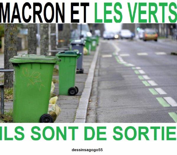 Macron et les Verts