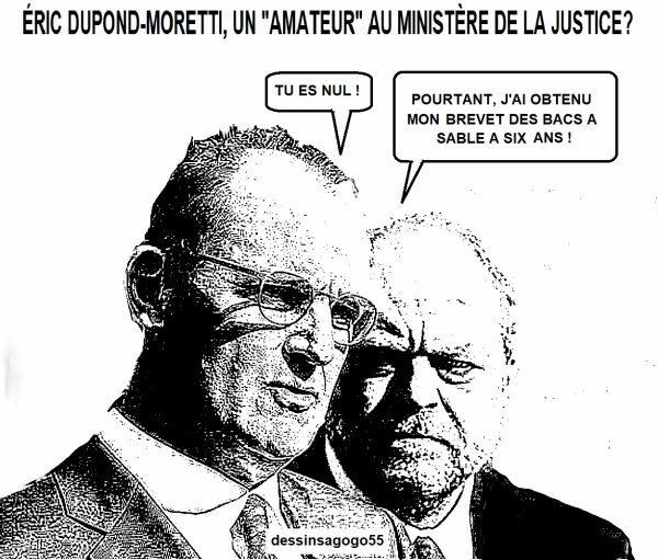 """Éric Dupond-Moretti, un """"amateur"""" au ministère de la Justice?"""