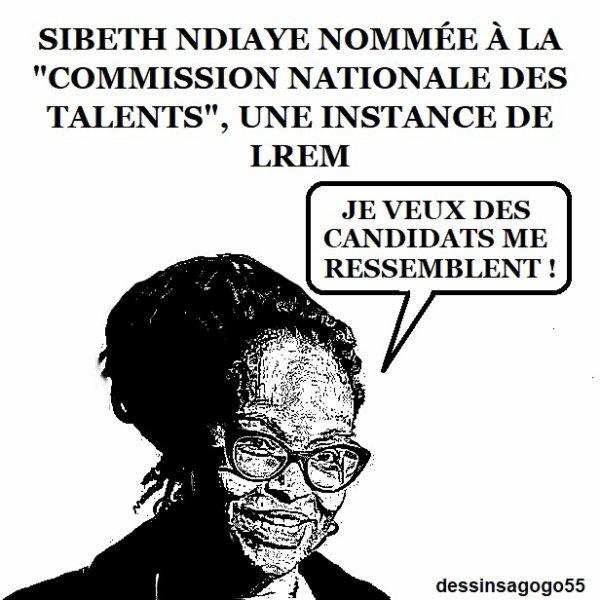 """Sibeth Ndiaye nommée à la """"Commission nationale des talents"""", une instance de LREM"""