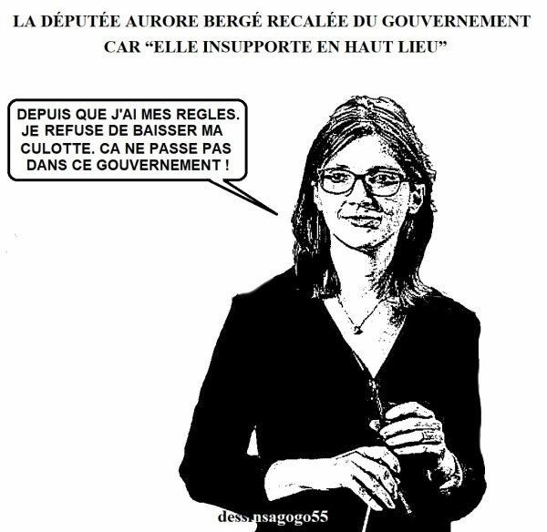 """La députée Aurore Bergé recalée du gouvernement car """"elle insupporte en haut lieu"""""""