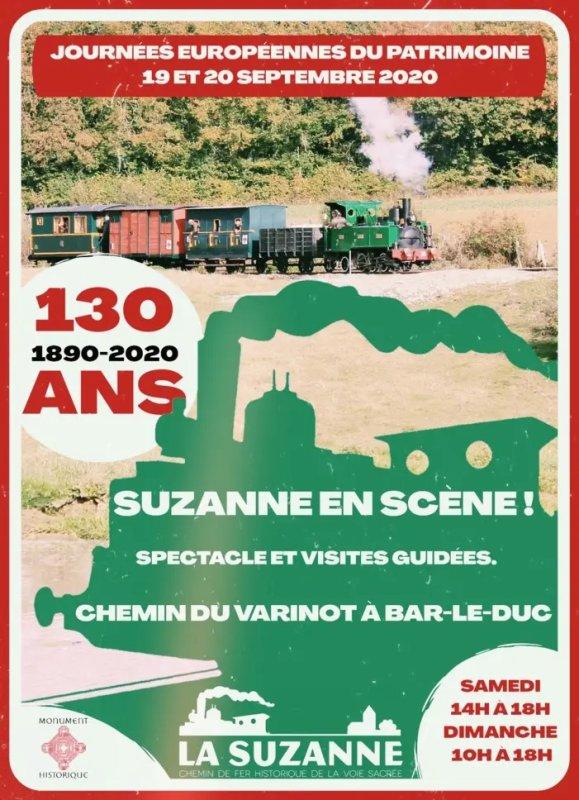 La Suzanne et les hommes Gare de la Suzanne Bar-le-Duc