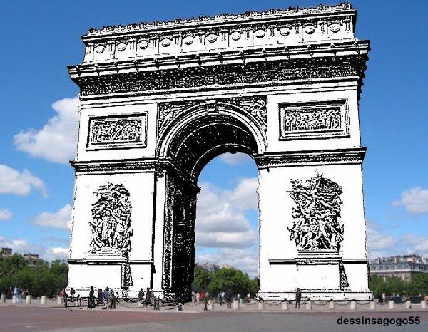 L'Arc de Triomphe : dessinsagogo55