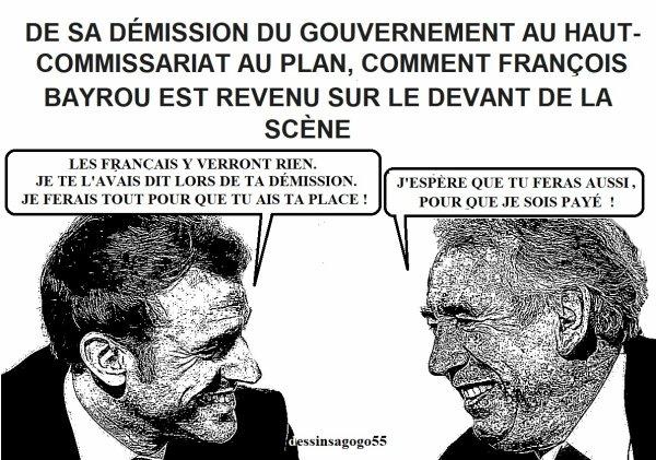 De sa démission du gouvernement au haut-commissariat au Plan, comment François Bayrou est revenu sur le devant de la scène
