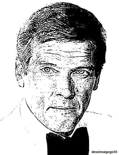 Roger Moore : dessinsagogo55