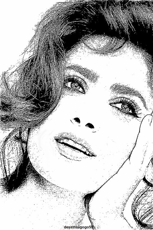 Salma Hayek : dessinsagogo55