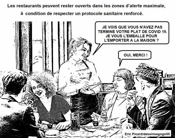 Covid-19 et alerte maximale : comment ça va se passer dans les restaurants à Paris ?