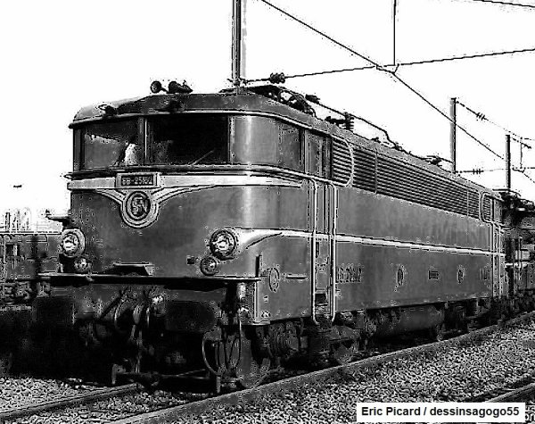 Locomotive BB 25100