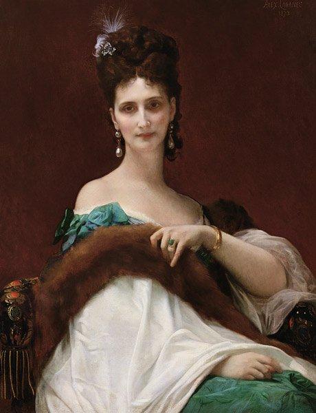Alexandre Cabanel : la comtesse de Keller