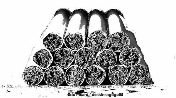 Un monde fou : 18.000 paquets de cigarettes abandonnés
