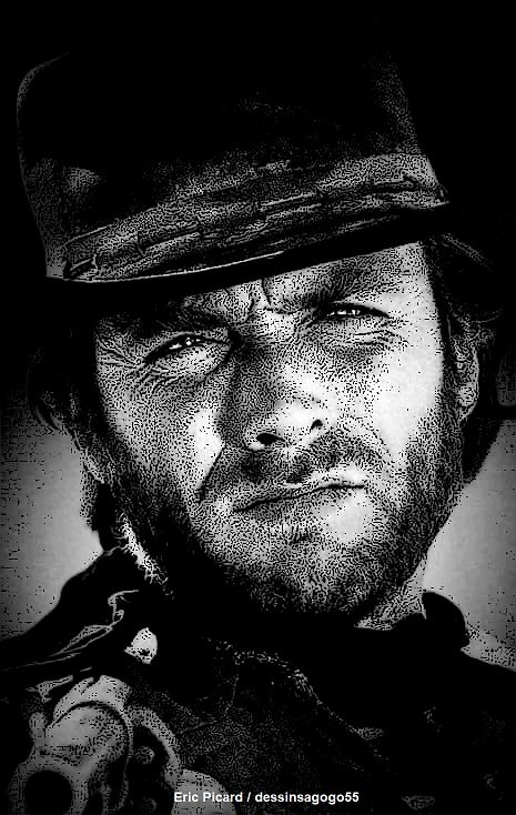 Clint Eastwood : dessinsagogo55