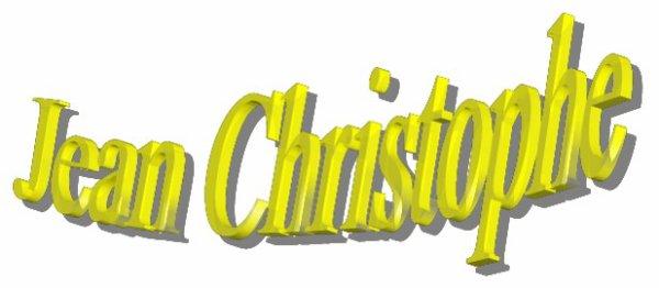 Création pour Jean Christophe