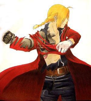 Une image de Ed tien pour changer de Al pour les fans d' Edward