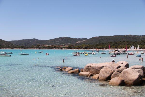 Corsica plage.