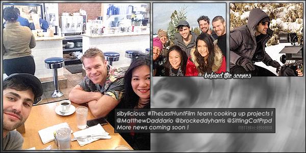 . 29/04/16 - Matthew Daddario déjeunait dans un café de New-Yorkavec Brock Harris et Sibyl Santiago.Matthew D. a réalisé un court métrage dont il produit mais aussi y joue un rôle. Voici quelques photos en attendant plus d'informations sur ce projet ! .