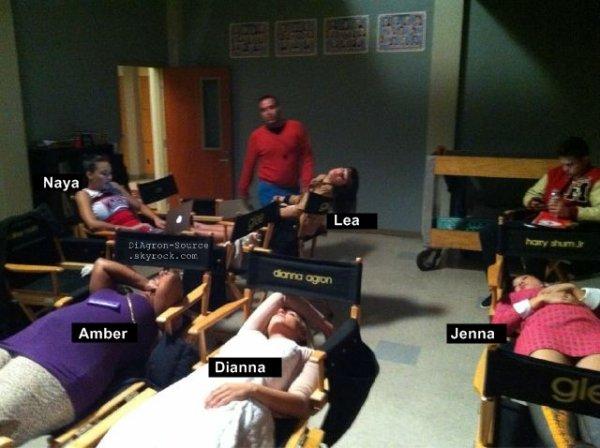 1er Novembre ♦  Photo postée par Dianna et Lea Michele sur leur compte Twitter !