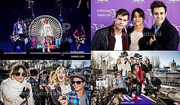 11.03.15 - Le magnifique Jorge était àune conférence de presseet au ViolettaLive.