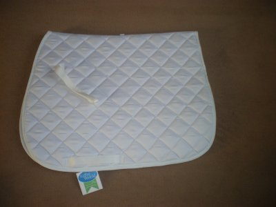 Tapis riding world blanc