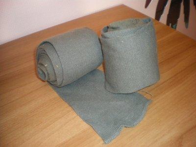 Bandes de repos grise