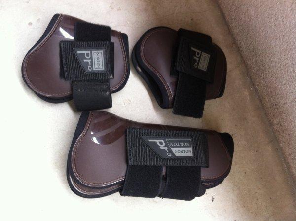 Protections norton pro marron