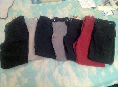 Divers pantalons