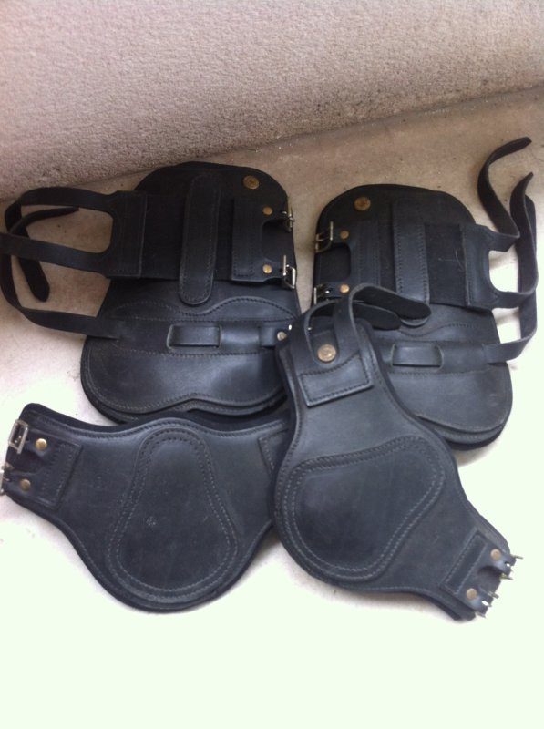Protections cuir forestier