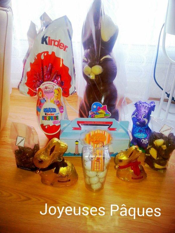 Aujourd'hui c est Pâques !