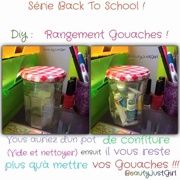 Série Back To School - Diy !!!