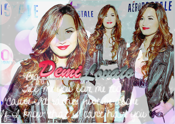 _  Bienvenue sur DEIMITRIA-LOVATO, Ta Source sur Demetria Devonne Lovato ! _