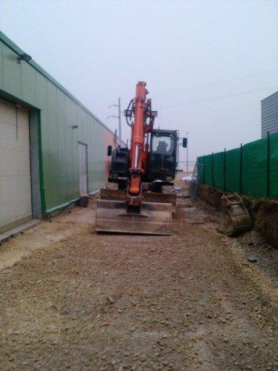 Petit chantier a Jardi leclerc a FLERS (61)
