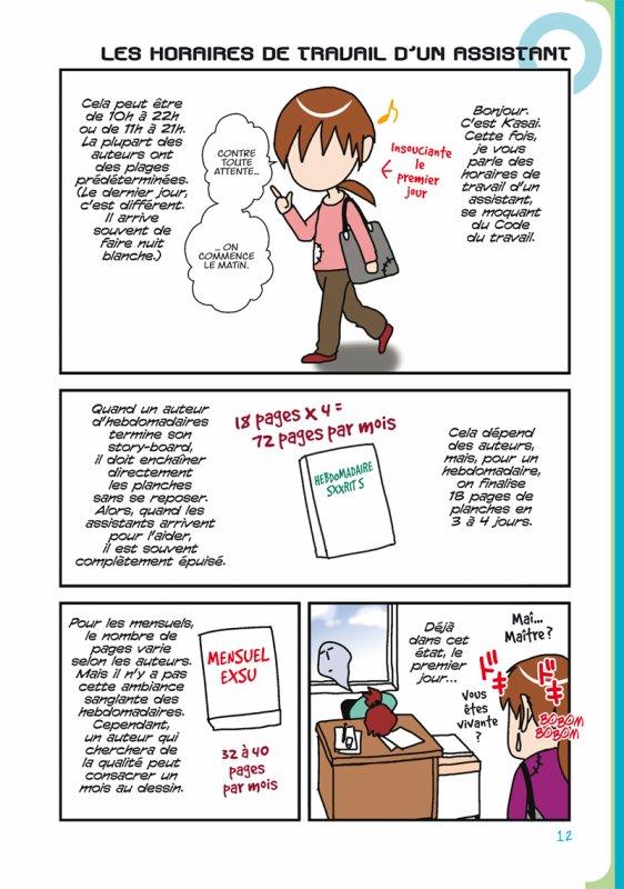 Assistante Mangaka - Le blog