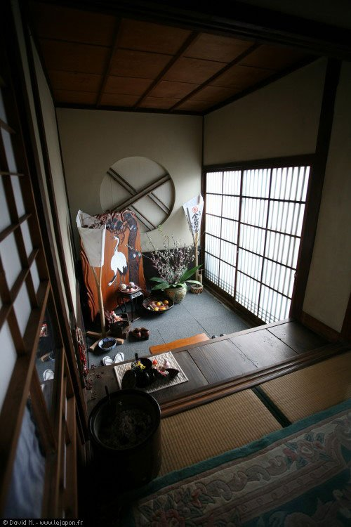 les maisons traditionnelles japonaises otaku power. Black Bedroom Furniture Sets. Home Design Ideas